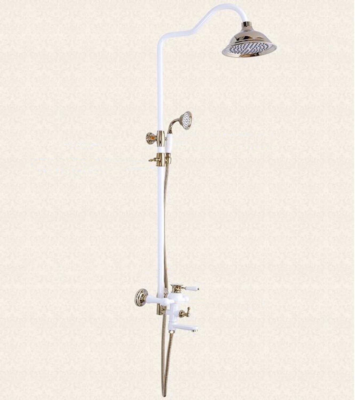 SJQKA shower set Antique golden Shower Shower Shower Shower Shower Shower Sprinkler,A
