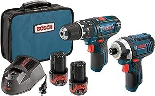 Bosch 12-Volt Max Lithium-Ion 2-Tool Cordless Combo Kit CLPK241-120