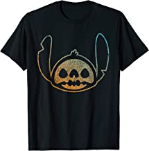 Disney Stitch Face Halloween T-Shirt