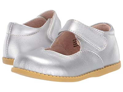 Livie & Luca Astrid (Toddler/Little Kid) (Silver Metallic) Girl