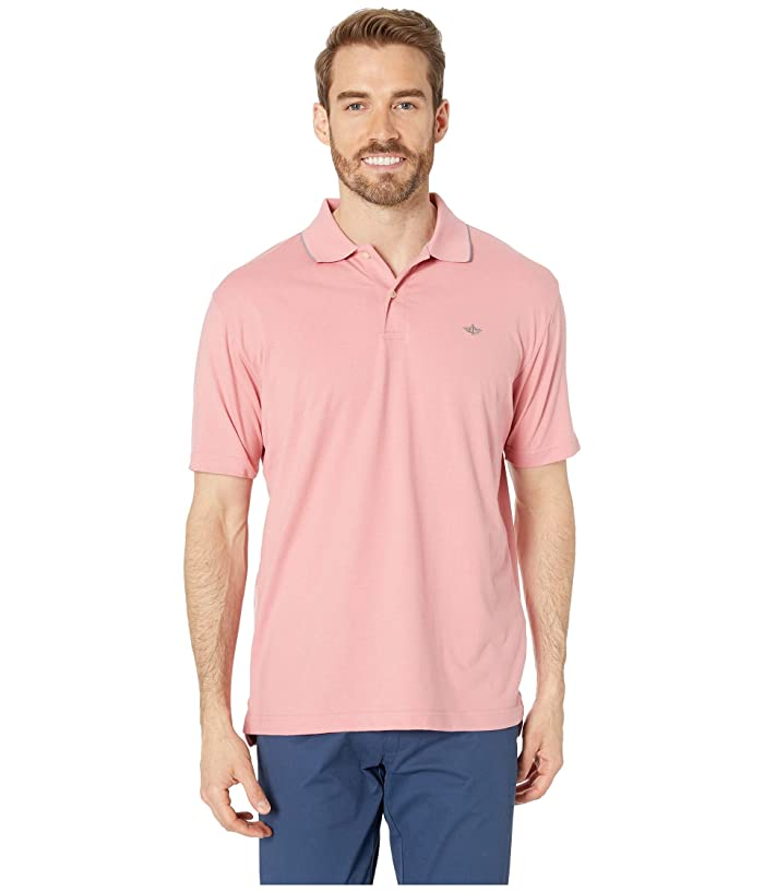 Dockers  Smart 360 Tech Polo (Brandied Apricot) Mens Clothing
