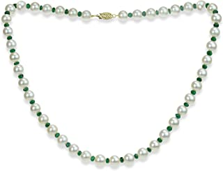 Best emerald and pearl necklace Reviews