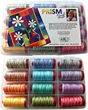 Prism by Pieceful Quilter Thread Kit 12wt 12 Large (356 Yard) Spools Aurifil