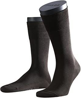 3 pairs of socks Falke Men 14662 Tiago SO Fashionable informal cotton sock, color:Brown;Socken & Strümpfe:45-46
