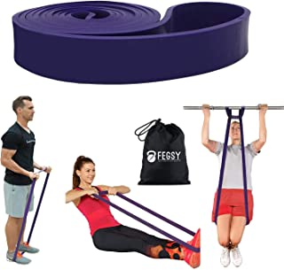 FEGSY Resistance Bands for Exercise, Stretch Loop Pull up Assist Bands for Fitness, Home Gym Workout, Stretching for Men, ...
