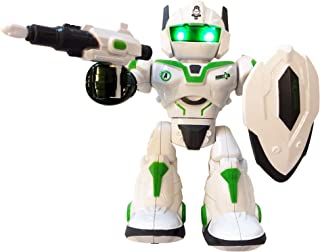 LilPals' Cool Man Dancing Robot – Toy Plays Music, Walks, Spins, Dances and Emits Awesome Light & Sound - Battery Operated