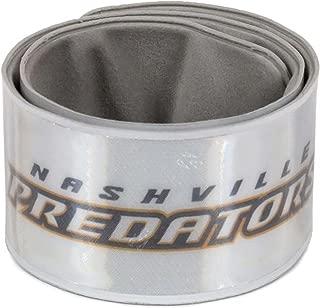 Finnex Reflectors Official NHL Nashville Predators Slapstick | High Visibility Reflective Arm Band for Running, Cycling, Walking at Night