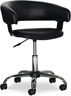 Powell Gas Lift Desk Chair, Black