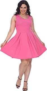 Women's Plus Size Crystal Fit & Flare Sundress