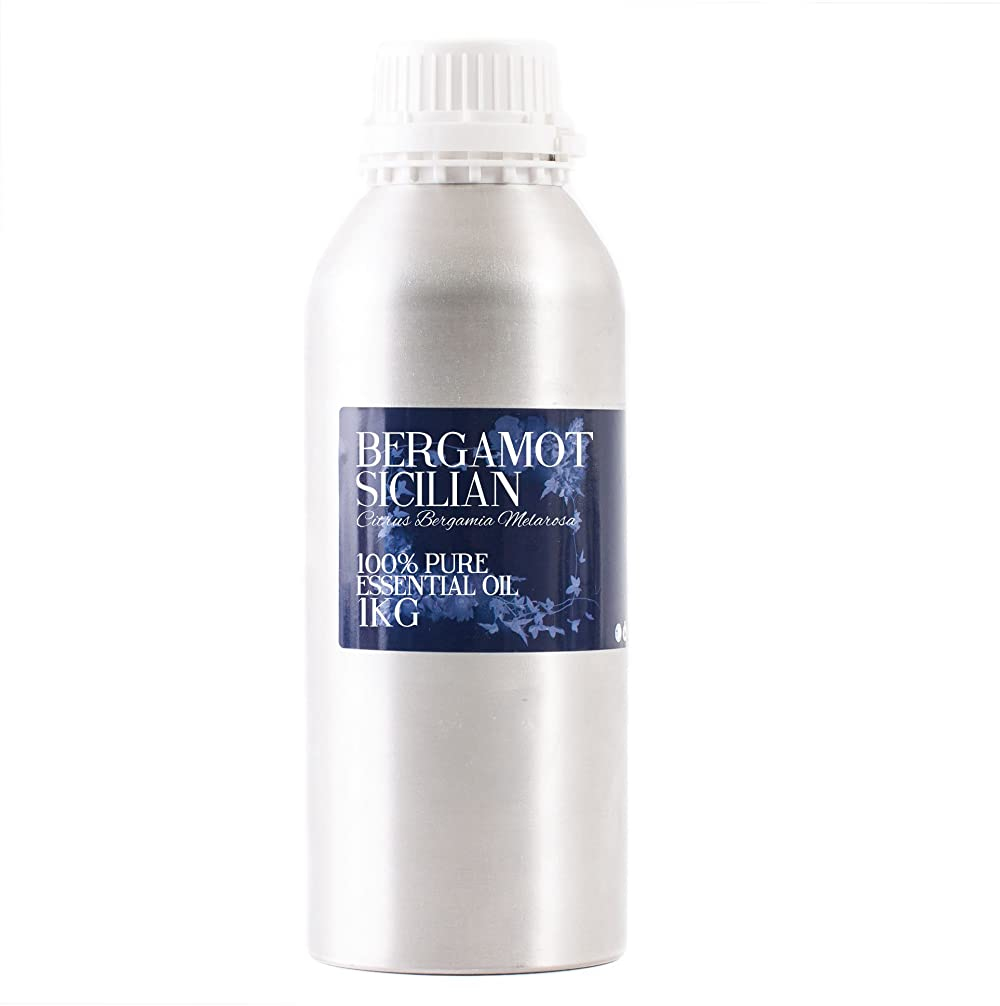 打ち負かすバルセロナ石油Mystic Moments   Bergamot Sicilian Essential Oil - 1Kg - 100% Pure