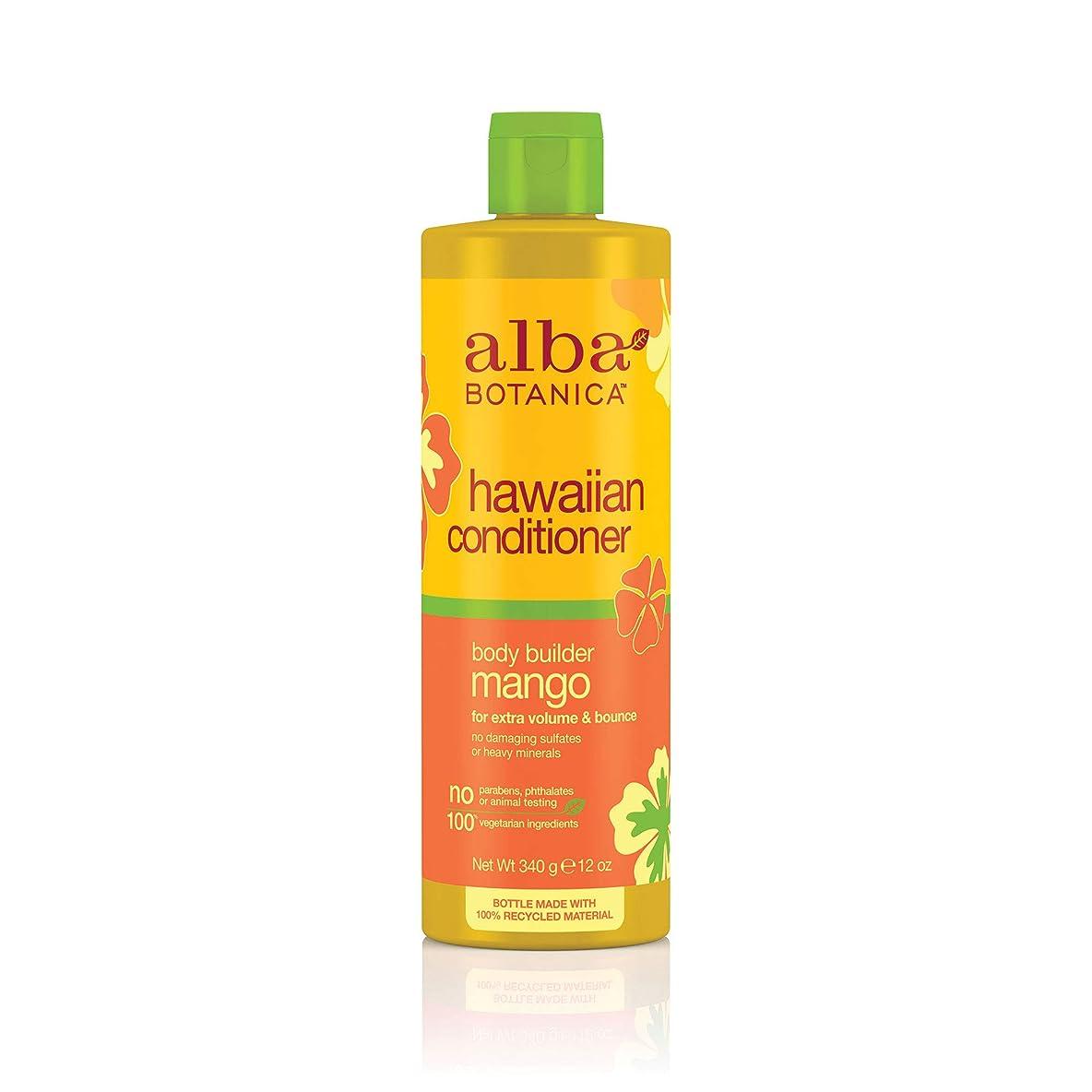 従事する前書きフルーティーHawaiian Hair Conditioner Mango Moisturizing - 12 fl oz by Alba Botanica