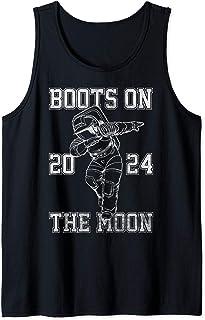 Netflix Space Force Boots On The Moon 2024 Débardeur