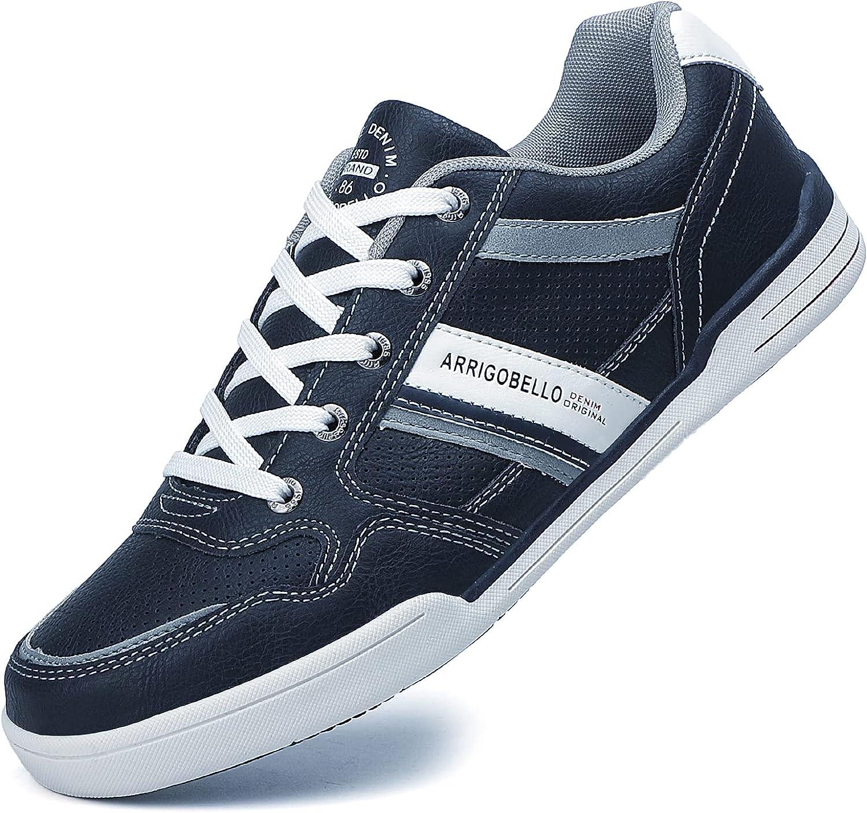 TARELO Zapatillas Hombre Casual Sneaker Moda Deportivas Interior Zapatos Gimnasia Comodos Exterior Running Deportes Talla 41-46