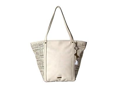 Sakroots Arcadia Topanga Tote (Stone Tribal Beauti) Tote Handbags