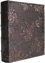 yepmax Vintage 5 x 7 Pocket Photo Albums Peony Flowers, 50 Sheets Hold 100pcs 5x7 Prints