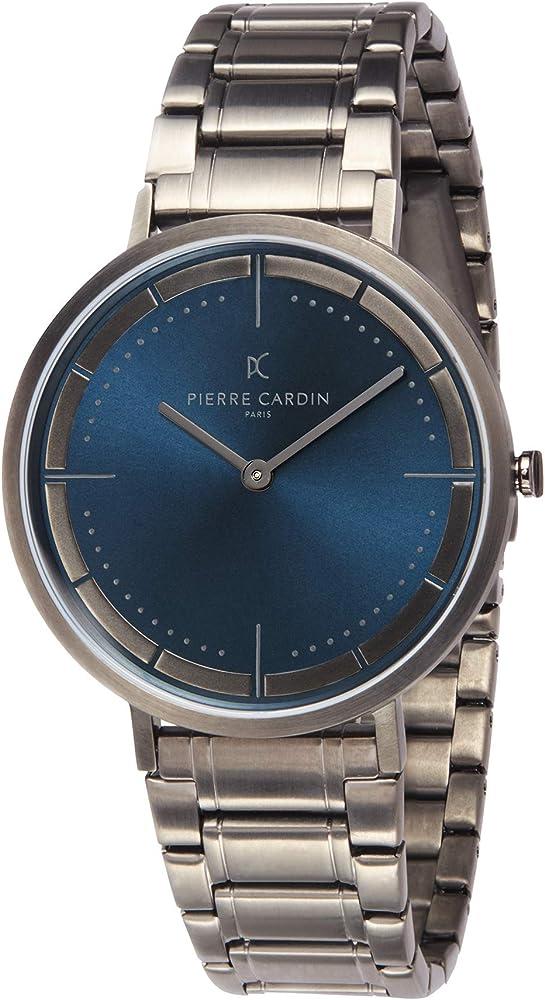 Pierre cardin,orologio per uomo,in acciaio inossidabile CBV.1033