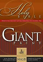 Giant Print Handy-Size Reference Bible: NASB 1977 Edition (AMG Giant Print Handy-Size Bibles)