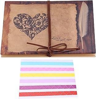 Album photo style vintage avec accordéon, pliable, fait à la main, cadeau d'anniversaire, remise de diplôme, mariage