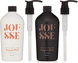 calista Jousse Cleanse and Condition Duo, Salon Quality Shampoo and Conditioner, Honeymint Blend, Paraben Free, Sulfate Fr...
