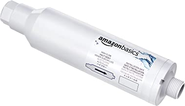AmazonBasics Inline Water Filter, 4 Pack