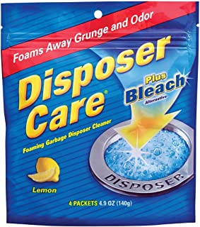 Glisten New Super Size Packageage DP06N-PB Disposer Care Foaming Garbage Disposer Cleaner-4.9 Ounces each Powerful Disposa...