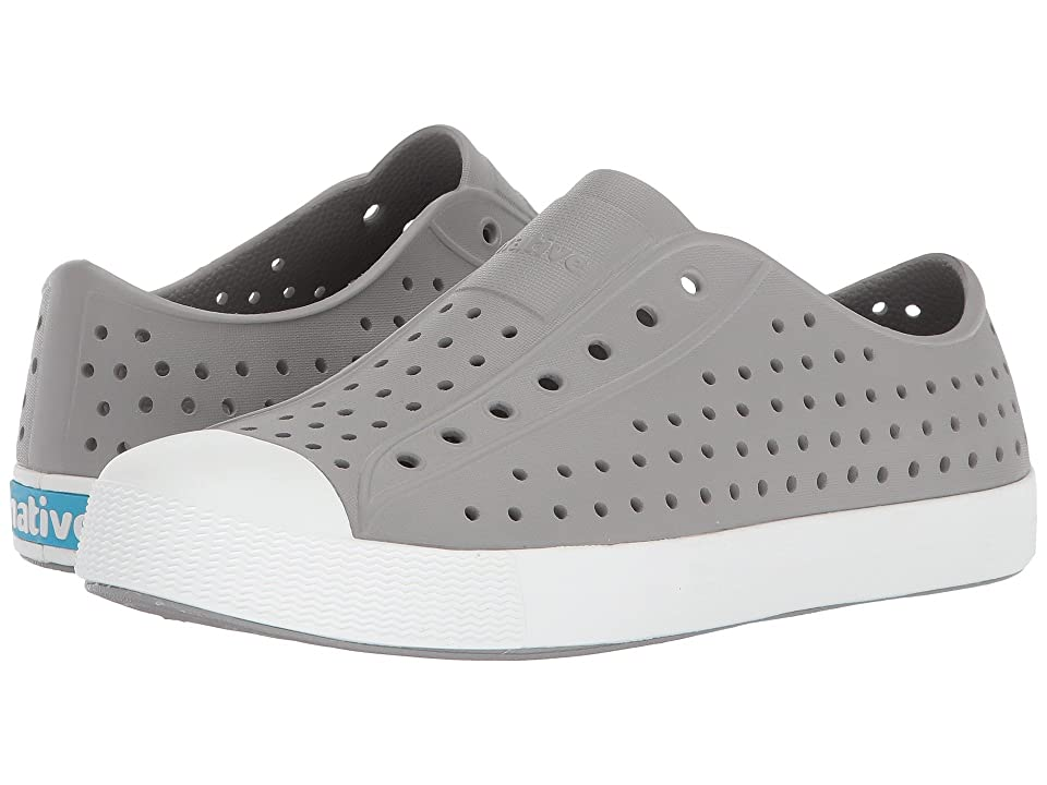 Native Kids Shoes Jefferson (Little Kid/Big Kid) (Pigeon Grey/Shell White) Kid