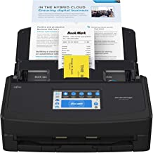 $449 » Fujitsu ScanSnap iX1600 Deluxe Versatile Cloud Enabled Document Scanner with Adobe Acrobat Pro DC for Mac or PC, Black