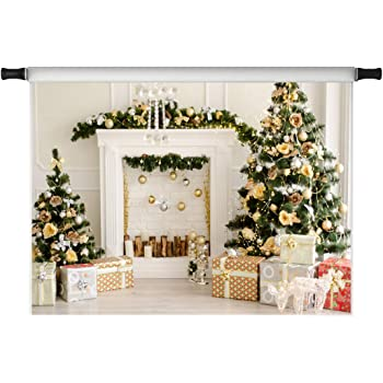 3x2m Kate 10x6.5ft Christmas Forest Photography Backdrops Microfiber Green Trees Backdrops for Children Cartoon Photography