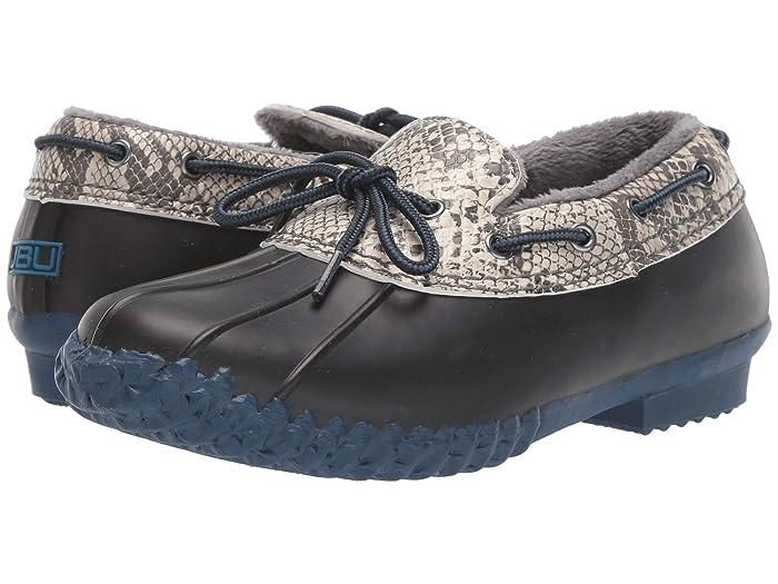 JBU  Gwen (Black Python/Navy) Womens Slip on  Shoes