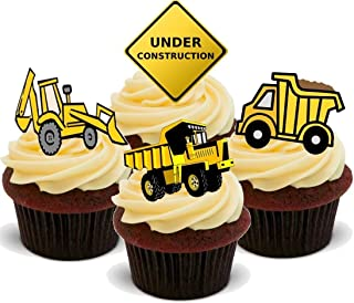 Diggers Mix E Under Construction Work Hobby Boys Toys JCB Truck - Fun Novelty Birthday PREMIUM