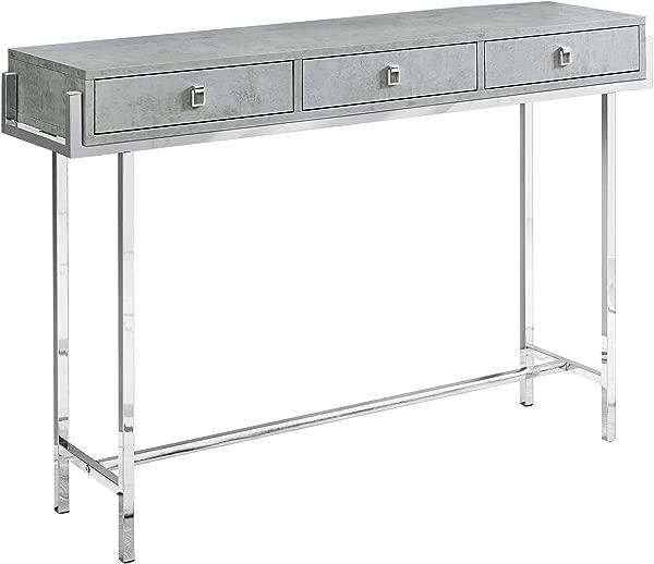 Monarch Specialties I I 3298 Accent Table Grey