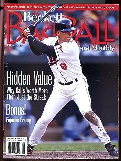 Beckett Baseball Card Monthly #158 May 1998 Hidden Value Cal Ripken Jr GOOD