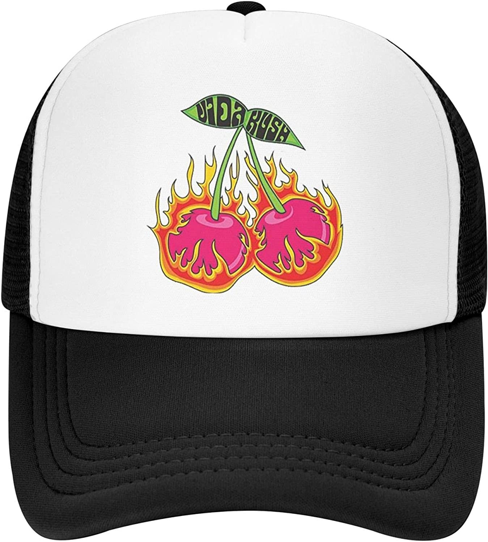 Hoodie My Heart Y2k Cherry Bomb Hat for Men Women Funny Trucker Hats Mesh Baseball Caps
