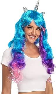 unicorn horn wig