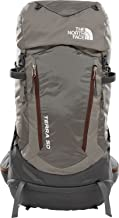 The North Face Terra 50 Hiking Backpack (Falcon Brown/Sequoia Red, SM/MD)