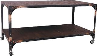 Attraction Design 2-Tier Metal Antique Workmans Shelf