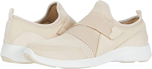 Cream Pink Fly Knit
