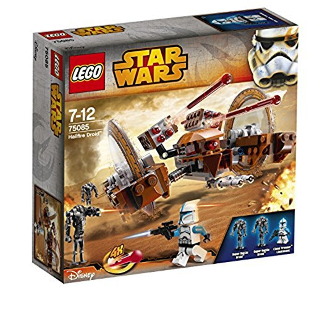 Amazon Com Lego Star Wars Attack Of The Clones Hailfire Droid Exclusive Set 75085 Toys Games