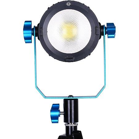 Blue /& Black Dracast DR-DRBRF600B Boltray 600 Bicolor LED Fresnel Light