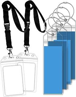 GreatShield Luggage Tags, Weatherproof Zip Seal & Steel Loops for Royal Caribbean and Celebrity Cruise (4 Pack)