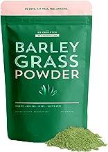 SB Organics Barley Grass Powder - USDA Organic Antioxidant Superfood with Vitamins, Minerals, Chlorophyll - 8 oz.