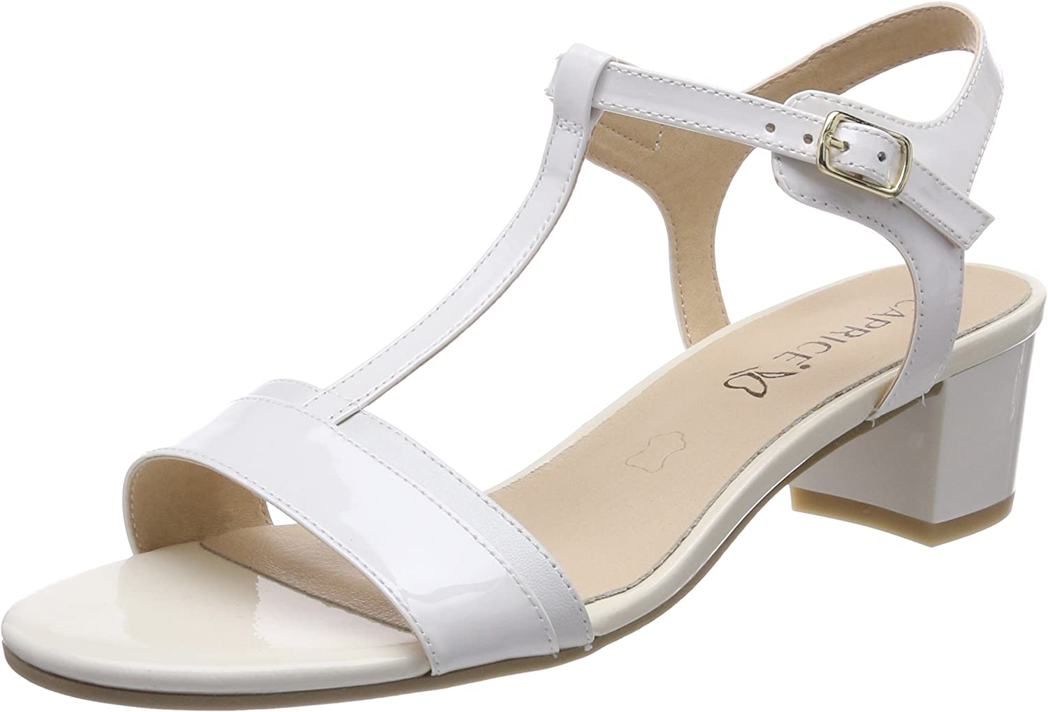 Caprice Women's Now on sale Slingback Max 70% OFF Back Sandals Sling