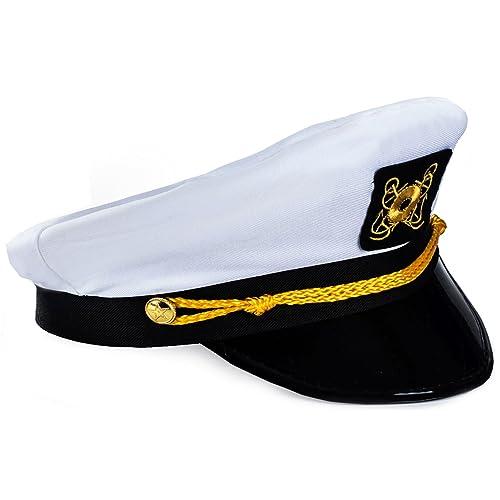 768388dc33269 Funny Party Hats Yacht Captain Hat – Sailor Cap