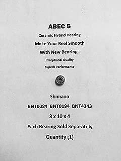 SHIMANO Curado 200DPV BNT0084 BNT0194 BNT4343 ABEC5 Ceramic Bearing 3x10x4#02