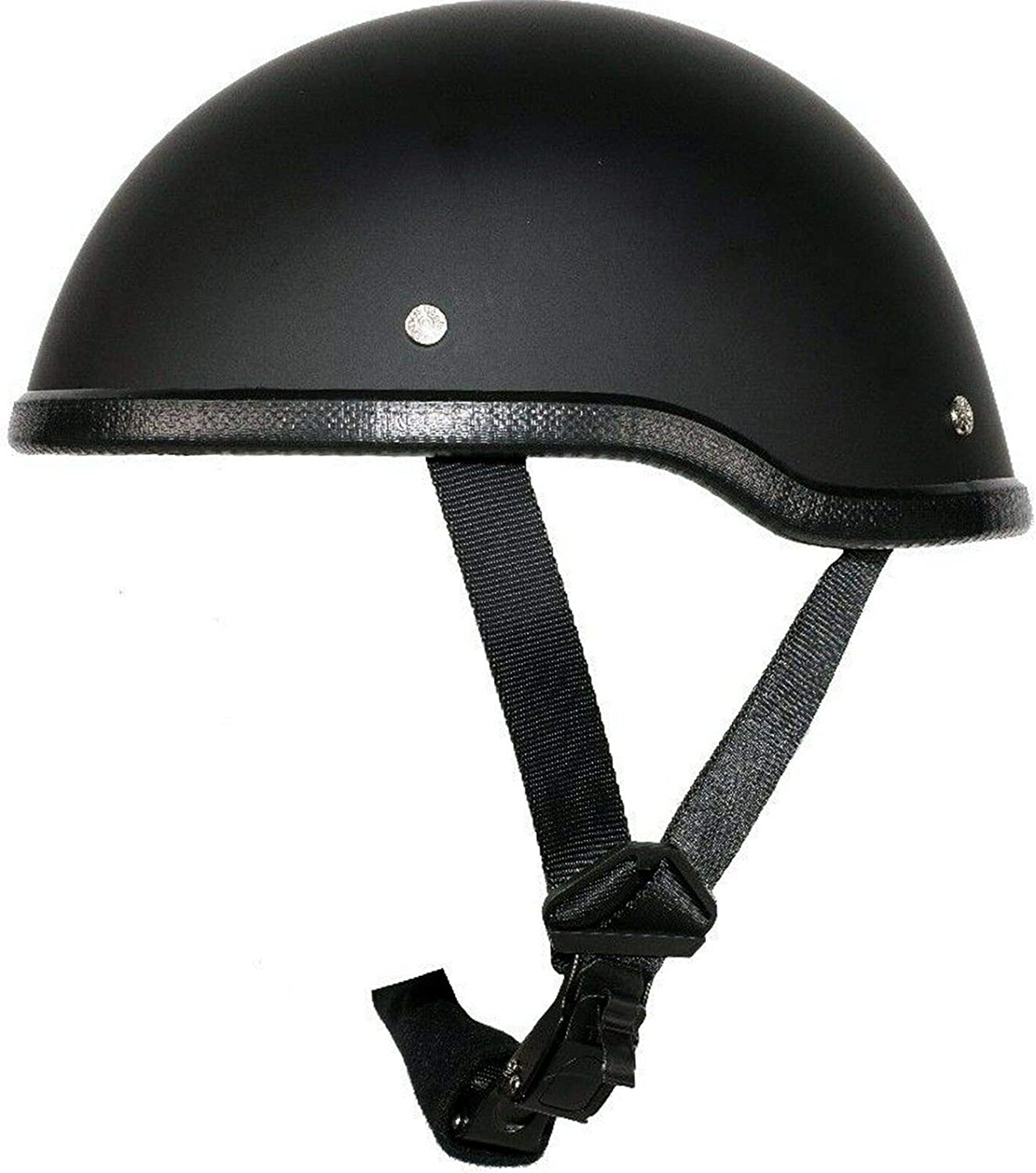 EXCELSIOR INT Eagle low-pricing Classic Flat Scooter Chopper Skull Cap Helme