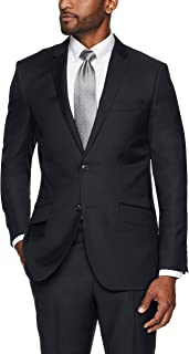 Buttoned Down Men's Slim Fit Italian Wool Suit Jacket