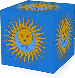 KING CRIMSON LARKS TONGUES キング・クリムゾン 太陽と戦慄 - 副本 - 副本 3次ルビックキューブ楽しい 立体パズル 3×3 ストレス解消 脳トレ ポップ お子様への誕生日贈り物