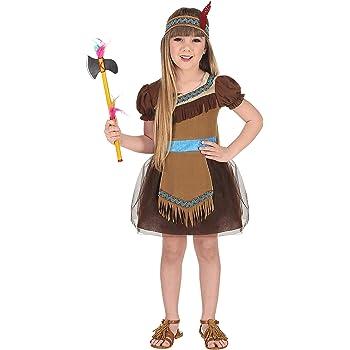 WIDMANN Disfraz de India Tul para niña T-2/3 años: Amazon.es ...