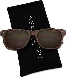 Best wood rimmed glasses Reviews