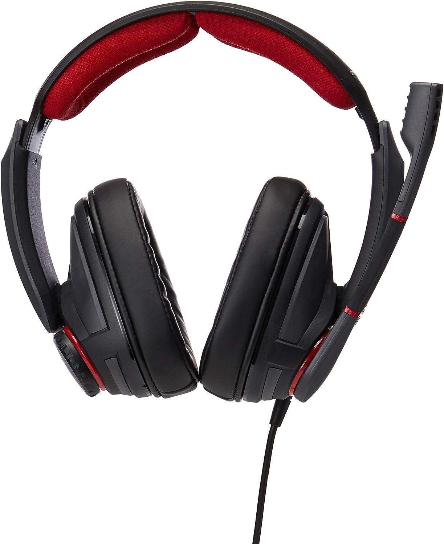 rutschfeste Unterseite und Silikonauflage schwarz//rot /& Speedlink EXCEDO Gaming Headset Stand schwarz Sennheiser GSP 350 Geschlossenes Gaming-Kopfh/örer St/änder f/ür Kopfh/örer und Headsets